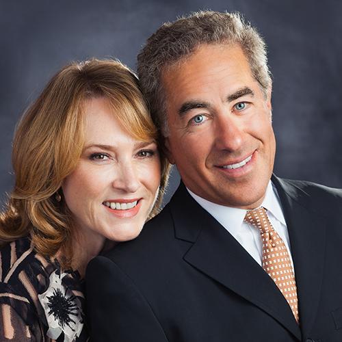 Margaret and Sylvan Adams