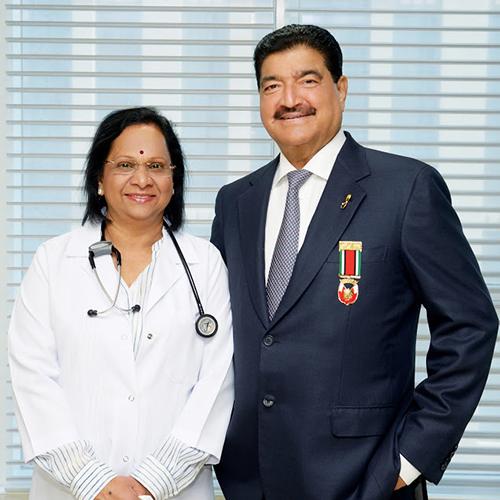 Dr. B.R. Shetty and Dr. C.R. Shetty