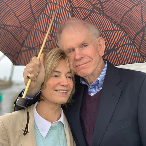 Jeremy and Hanne Grantham