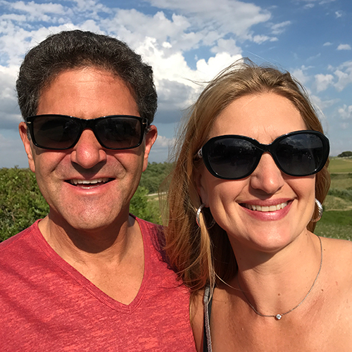 Nick and Leslie Hanauer