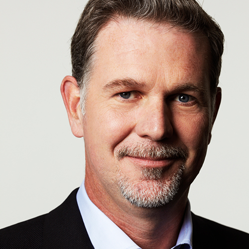 Reed Hastings and Patty Quillin
