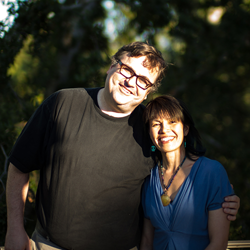 Reid Hoffman and Michelle Yee