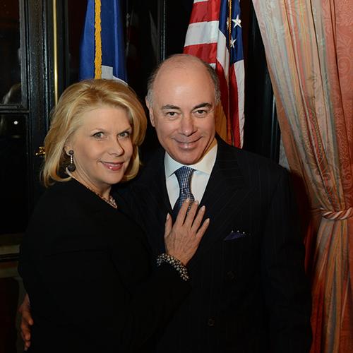 Francine A. LeFrak and Rick Friedberg