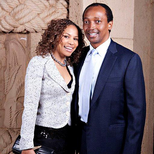 Patrice and Precious Motsepe